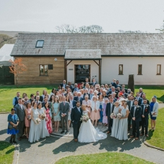 Kelly-and-Gavin-Pippa-Carvell-Wedding-Photography-At-Oldwalls-Gower-Courtyard-At-Oldwalls
