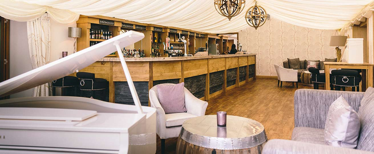 This is the private bar at our exclusive South Wales wedding location